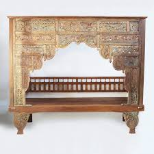 Traditional Italian Furniture Los Angeles Balinese Teak Canopy Bed Furniture Mix Furniture