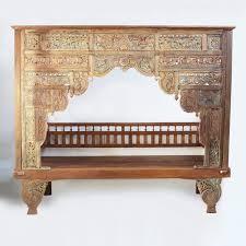 Mix Furniture Balinese Teak Canopy Bed Furniture Mix Furniture