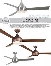 marine grade stainless steel outdoor ceiling fans donaire ceiling fan for balcony terrace verandah outdoor spaces