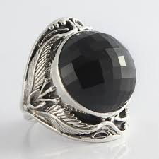 ball rings images Onyx ball ring vy jewelry jpg