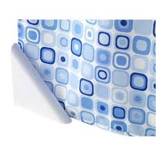 shower curtains black pvc fabric u0026 anti mould at homebase co uk
