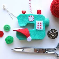 ho ho sew sewing machine ornament pdf pattern betz white