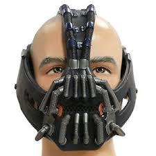 bane costume xcoser men s bane mask costume props tdkr size 3d