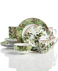 christmas dinnerware christmas dinnerware sets macy s