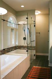 chic master bath with fun mid century flair u2013 austin interior
