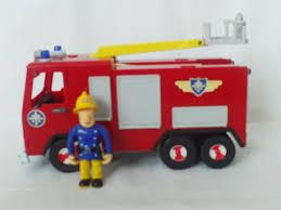 talking u0026 light fireman sam jupiter friction fire engine