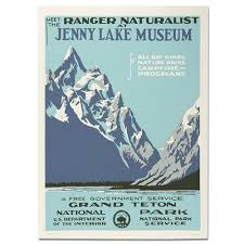 Travel Posters images Grand tetons national park wpa travel poster eparks where your jpg