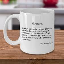 amazon com the princess bride mug mawage quote funny