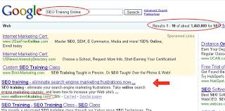 online seo class optimized web page exles for generic everyday keywords in seo