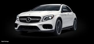 mercedes jeep white 2018 mercedes amg gla luxury suv mercedes benz canada