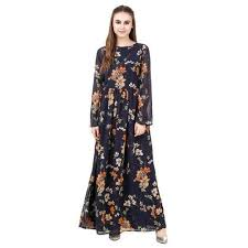 fancy maxi dresses sassy casual fancy maxi dress with floral print rs 625