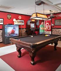 pool table i want to change my garage into this type of room or
