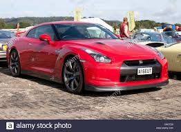 red nissan red nissan gtr stock photo royalty free image 40235246 alamy