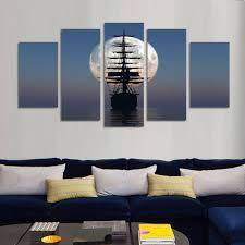 Wohnzimmer Bild Modern Online Kaufen Großhandel Mond Kunstwerk Aus China Mond Kunstwerk