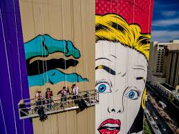 buildings become canvases in las vegas u0027 explosion of murals by