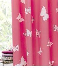 Childrens Curtains Girls Butterflies Children U0027s Curtains For Girls Ebay