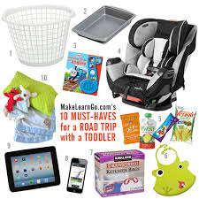 10 Must Essentials For A by 10 Must Haves For A Road Trip With A Toddler
