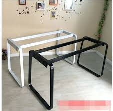 Ikea Metal Table Desk Cheap Metal Computer Desk Vintage Metal Desk With Wood Top