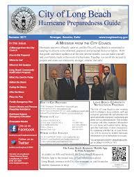 hurricane preparedness guide summer 2017 newsletters the city