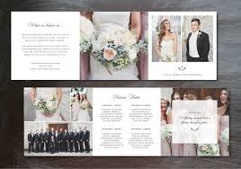 Tri Fold Wedding Invitations Template Free Photography Template Pricing Guide Trifold