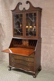 tall secretary desk with hutch mahogany secretary desk ebay stylish tall secretary desk with hutch