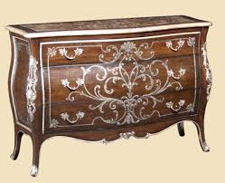 Bombay Chest Nightstand Marble Top Handpainted Bombe Chest Psm14 1 Marge Carson Array