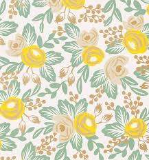 yellow wrapping paper rosa yellow wallpaper by rifle paper co made in usa