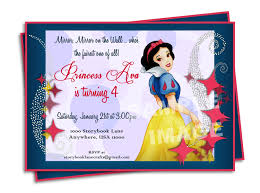 Free First Birthday Invitation Cards Snow White Birthday Invitations U2013 Gangcraft Net