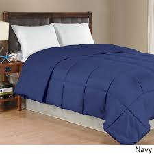 Down Comforter Color Solid Color Microfiber Down Alternative Comforter Free Shipping
