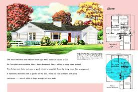 ranch style house floor plans ranch homes plans for america in the 1950s