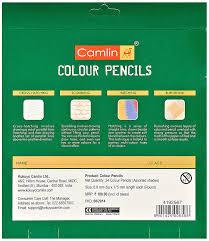 camlin kokuyo 4192567 24 shade full size colour pencil set