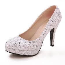 wedding shoes for girl silver bridal wedding shoes girl high heeled shoes nightclub