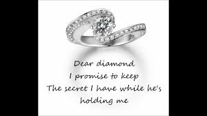 miranda lambert engagement ring dear diamond miranda lambert lyrics youtube