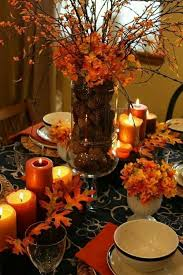 table picture display ideas 30 cool ideas for table decoration in autumn interior design ideas