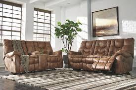 Leather Power Reclining Loveseat Darshmore Reclining Sofa Ashley Furniture Homestore