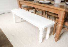 Bench Construction Plans To Build A Simple Farmhouse Bench With Free Building Plans