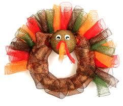 nicole crafts mesh turkey wreath a c moore