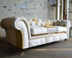 Fabric Chesterfield Sofa Chesterfield Sofa Fabric 2 Seater 3 Seater Chester Abode