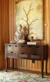 Buddha Room Decor Bring Serenity Into A Room By Combining Buddha Statues With A