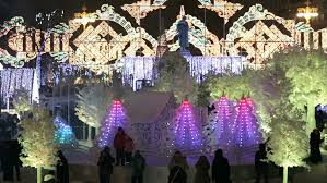 New Year Decorations 2015 by Bangkok Thailand December 27 2015 New Year Decoration Light In