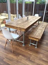 Kitchen Tables Ideas Best 25 Industrial Dining Tables Ideas On Pinterest Industrial