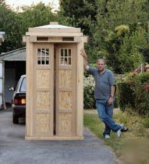 Garden Tool Shed Ideas Easy To Tardis Tool Shed Plans Sheds How