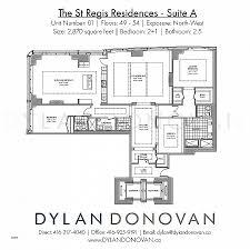 residence floor plan k residence floor plan elegant the st regis residences floor plans