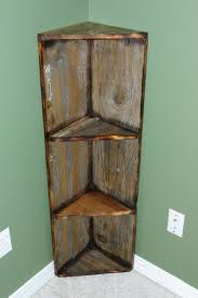 Narrow Corner Bookcase by Best 25 Wooden Corner Shelf Ideas On Pinterest Corner Shelves