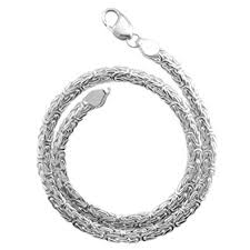 byzantine necklace images Byzantine necklace 6mm thick solid 925 sterling jpg