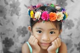 flower headdress flower girl headdress or crown headdress crown and flower crowns