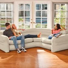 amazon com intex inflatable corner sofa 101