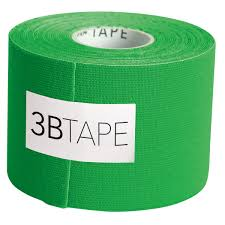 3btape green kinesiology tape 1012804 kinesiology tape