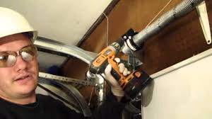 Garage Door Counterbalance Systems by Installing A Garage Door Part 4 Tensioning The Ez Set Torsion