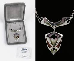 scottish jewellery designers pat cheney ortak sterling silver enamel scottish nouveau